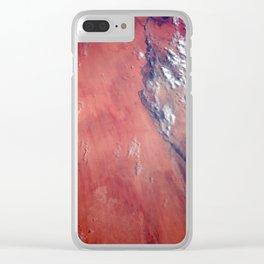 Nubian Desert Clear iPhone Case