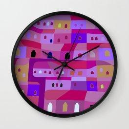 Ecatepec de Noche Wall Clock