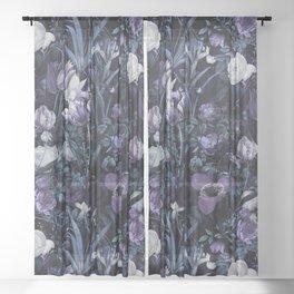 EXOTIC GARDEN - NIGHT XII Sheer Curtain