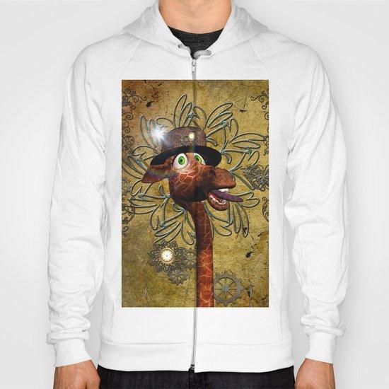 Steampunk, giraffe Hoody
