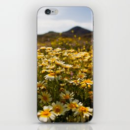 Flower dotted Delos iPhone Skin