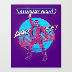 Saturday Night Dance-Off Canvas Print