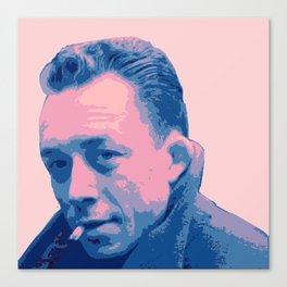 Albert Camus Canvas Print