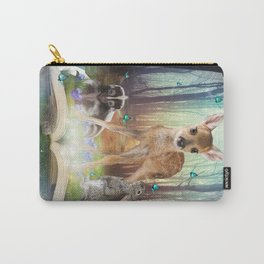 Believe In Magic • (Bambi Forest Friends Come to Life) Carry-All Pouch