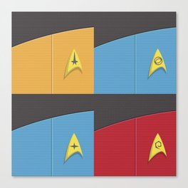 Star Trek - Insignia Canvas Print