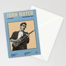 John Mayer: Live in Japan Stationery Cards