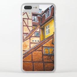 Scandinavian Architecture. Clear iPhone Case
