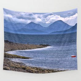 Over the Sea to Skye Wall Tapestry