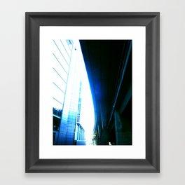 fly over london Framed Art Print