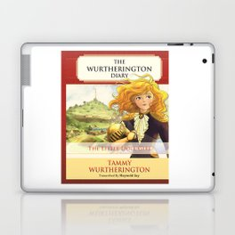 The Little Doll Girl: Cover Laptop & iPad Skin