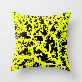 Amphibian Spots Throw Pillow