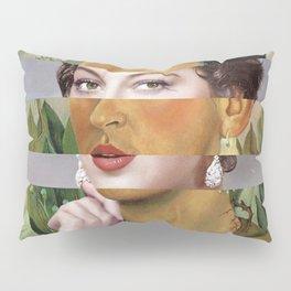 Frida's Self Portrait with Hand Earrings & Ava Gardner Pillow Sham