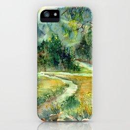 In Solitude I Stroll iPhone Case