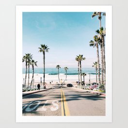 Oceanside, CA Art Print