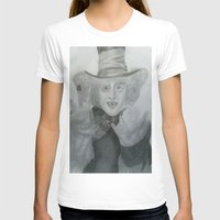 mad hatter T-shirts featuring Mad hatter by crazy_feline