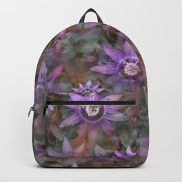 Purple Clematis Backpack
