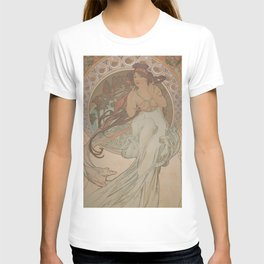 Alfons Mucha / Holmstad flot T-shirt