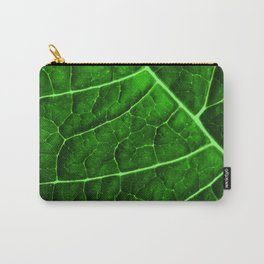 LEAF STRUCTURE GREENERY no2 Carry-All Pouch