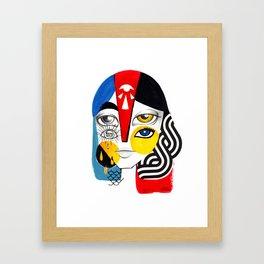 Multiplicidade 1 Framed Art Print