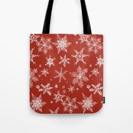 Snow Flakes 06 Tote Bag