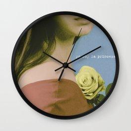 YO SOY LA PRINCESA Wall Clock