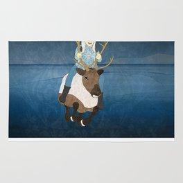 Reindeer Rider Rug