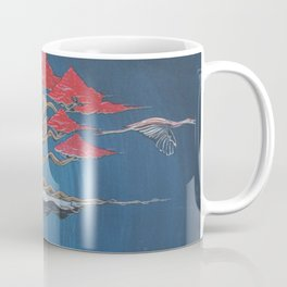 """Crane Glyde""- Bonsai Collection Coffee Mug"