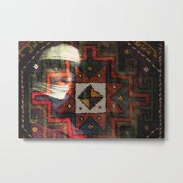 Oriental rug Metal Print