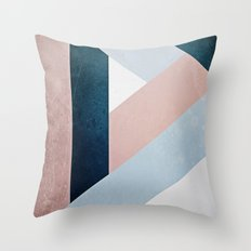 Complex Triangle Throw Pillow