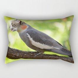 Hybrid Cat Bird Rectangular Pillow