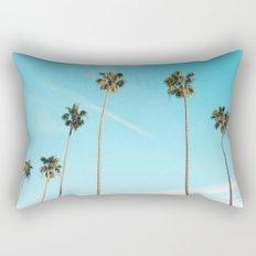 Palm Tree Sunshine Rectangular Pillow
