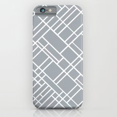 Map Outline Grey 45  Slim Case iPhone 6