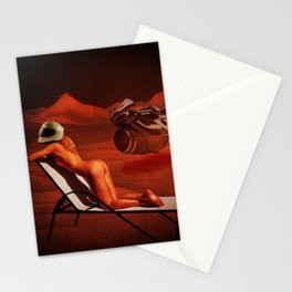 Quiverish Space Lounge 2 Stationery Cards