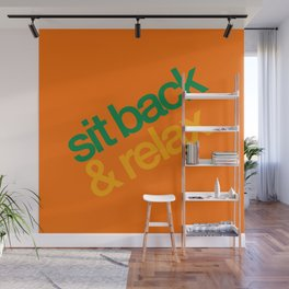 Sit Back & Relax - Citrus Wall Mural
