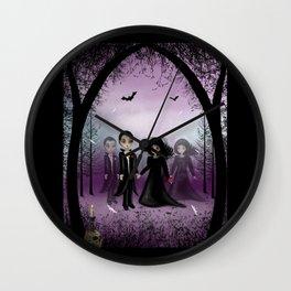 Soul Mates Dark Gothic Romance Print Wall Clock
