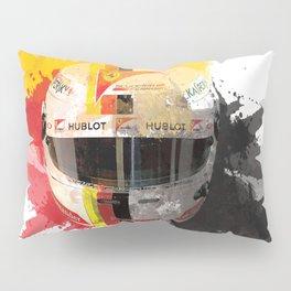 Sebastian Vettel #5 - 2017 Pillow Sham
