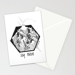 Soy Nieve / I am Snow Stationery Cards