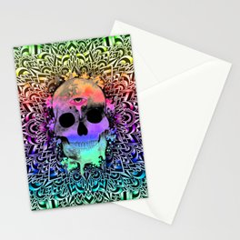 Doodle PsySkull Stationery Cards