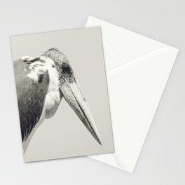 Marabou Stork Stationery Cards