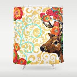Flora & Fauna Shower Curtain