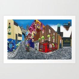 Dublin & Proud Art Print