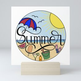 Summer Favorites Mini Art Print