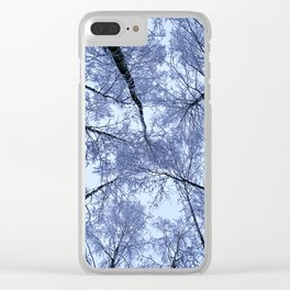 The winter composition Clear iPhone Case