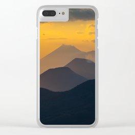 Sunset El Hoyo, Nicaragua Clear iPhone Case