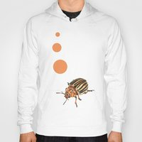 insect Hoodies featuring Insect by Chiara Martinelli Creations