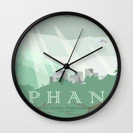 Planet Exploration: Phan Wall Clock