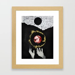 Dark Creation Framed Art Print