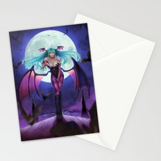Morrigan from Darkstalker Stationery Cards