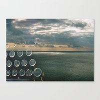 typo Canvas Prints featuring typo by Richard PJ Lambert