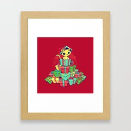 Tons of Xmas Gifts Framed Art Print